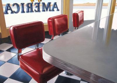 Cafe America 30x40 2012