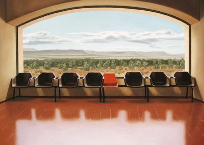 High Desert Station 30x40 2008