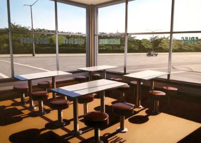 Sunset Diner 38x50 2008